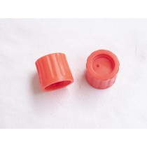 Plastic thread protector for co2 or hpa tank threads