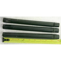 ICD stock barrel, 10 inches with porting. .687-.689 bore. One included. Used shape with set screw marks on them.