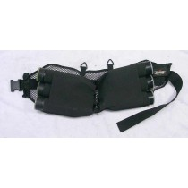 Unique Sporting harness, all elastic, missing buckle. Great shape.