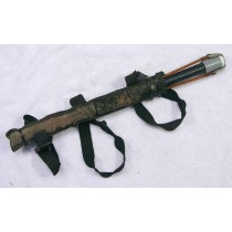 Squeegie holder with sling shot cover