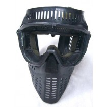 Black elite mask, later style strap