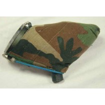 VL-200 with woodland camo cover stitched on and elastic bungie lid cover.