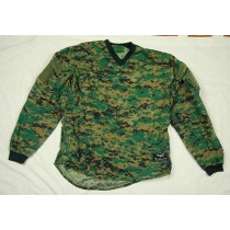 Size Large - Valken brown and Green Digital Camo Pullover, Ripstop, great shape