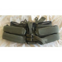 Unique Sporting Gear 4H plus 1V Harness in used but good shape - OD Green