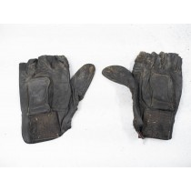 Junk Thunderwear gloves, hard leather, dirty, size XL