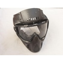 Black sparkle PMI Nvader or xfire mask, bad shape