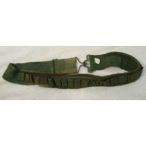 small or medium 32 or 33 inch stock class or army surplus belt, used shape