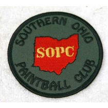 Southern Ohio Paintball Club patch, new
