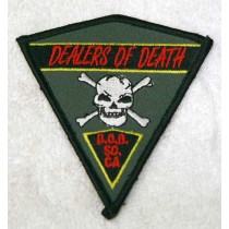 Dealers of Death Patch, So Cal, new