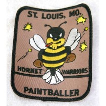 Hornet Warriors paintball, st louis MO patch. New