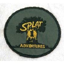 Splat 1 Adventures Patch, used, was sewn on