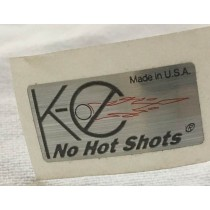 K-C No Hot Shots Reg Sticker - new