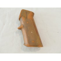 Wood grain (hydrodipped?) M16 style grip, used shape