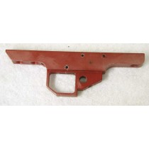 Empty rental trigger frame, worn, red, used, see pics