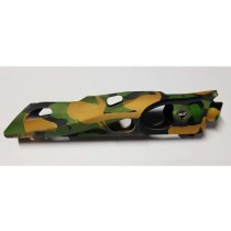Shocktech ion bodies with cut outs - Green Yellow Camo