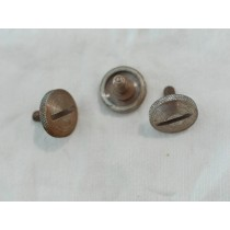 10x32 thumbscrew in steel with rust, likely from USI Eliminators.