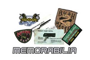 paintball memorabilia