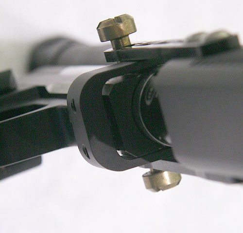 Circle Gun close up front underside