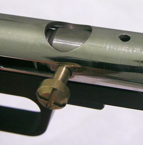 Circle gun top view feed removed