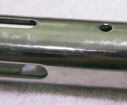 bottom side view circle snub close up