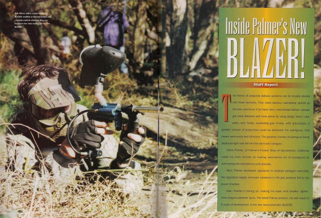 July 1997 APG spread featured Lori Wilcox, and her husband Rick shooting the Palmer's Blazer.