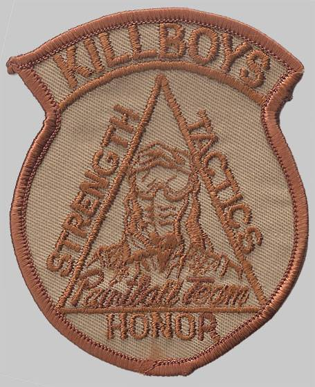"""Ralph's Killboys Patch from Steve """"Mongo"""" Brett. I don't know when this patch actually dates to."""