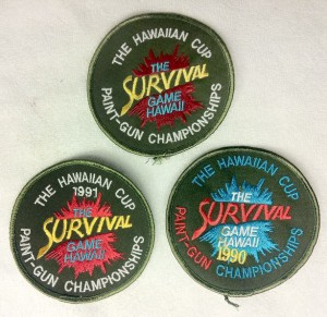The Hawaiian Cup patches