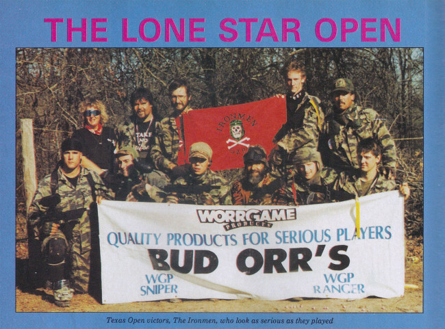 Ironmen at the Lone Star Open 1991