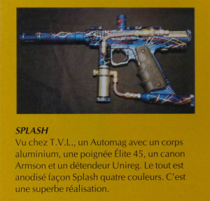Nov 1995 French 'Paintball Mag' Scan