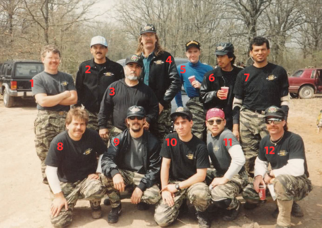 California Bushmasters at the lone star open 1991