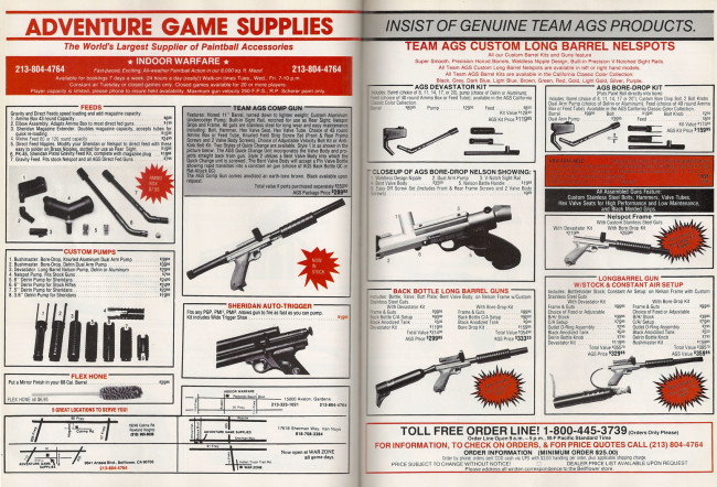 Adventure Game Supplies Ad Scan