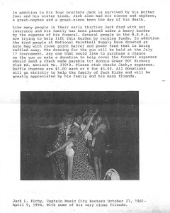 Jack kirby write up in mspa newsletter 2