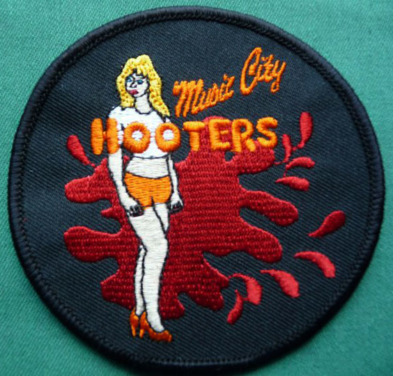 Music City Hooters patch