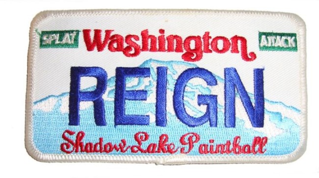 Washington Reign patch