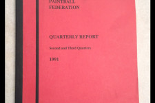 Paintball Stats - World Paintball Federation Quarterly Report - 1991