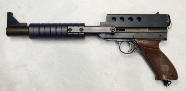 KBS Eliminator pistol full left