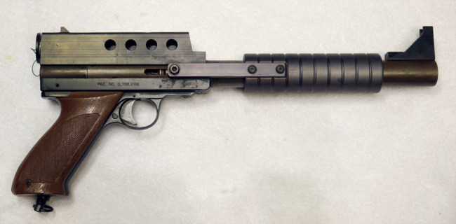 KBS Eliminator pistol right side view
