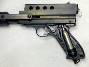 Left side grip removed