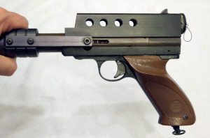 Left side view of KBS