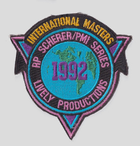 1992 Master's patch.