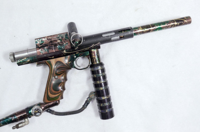 Rob Turner's Splash Camo Bushmaster