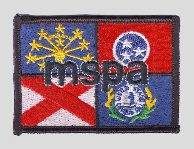Mid South Paintball Association Patch