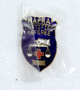 Rob's Brass NAPRA Pin