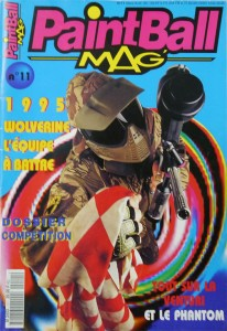 March-April 1995 issue of Paintball Mag'