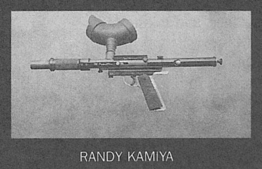 Randy Kamiya's Line Si Bushmaster scanned from the June 1990 issue of Apg