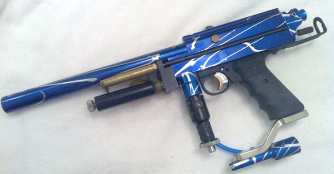Blue Splash Autococker