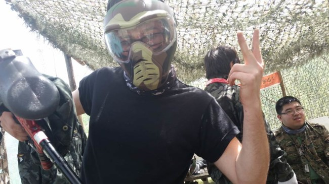 Crazy James says what's up with paintball in china