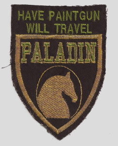 Paladin Patch from Chuck Link