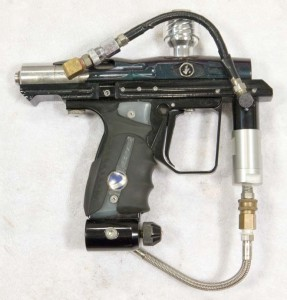 It Automag right with K-C Gas through grip