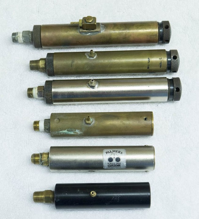 various models of Palmer's Rock Regulator.